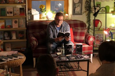 Lesung über Alkoholabhängigkeit Stadtbücherei Altötting 2018